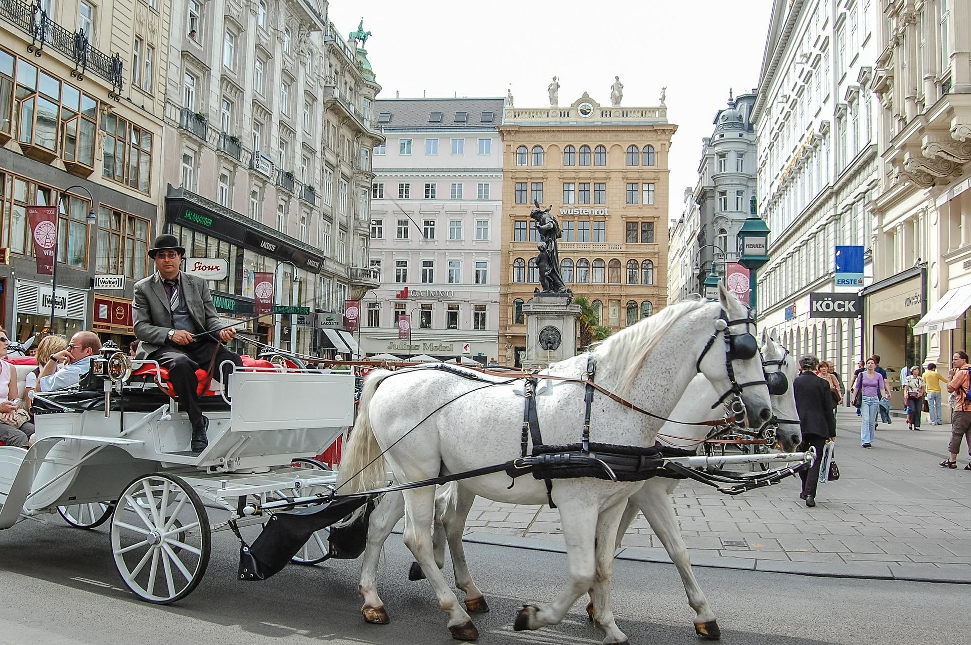 Fiaker in Wien (c) Pixabay